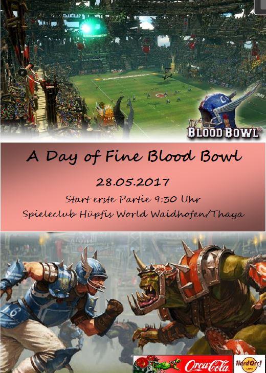 Ausschreibung Blood Bowl Turnier 2017 HW